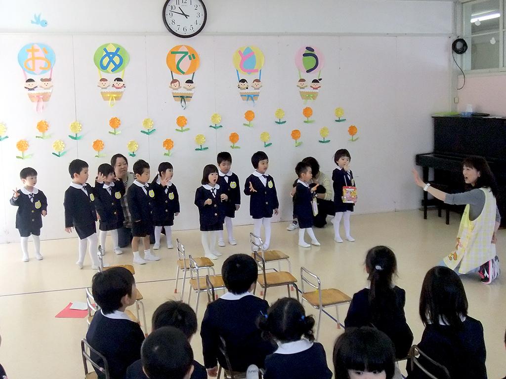 初めてのクラス発表~ドキドキ~