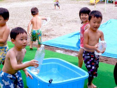 8月水遊び