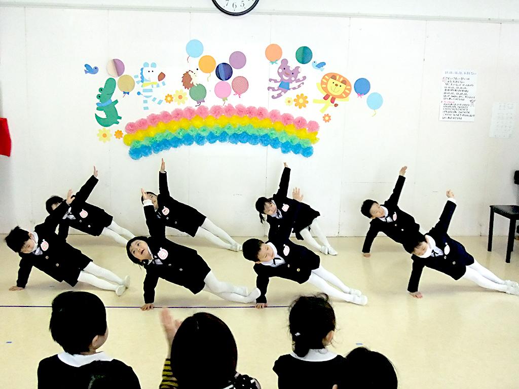 お誕生会〜組体操に挑戦〜